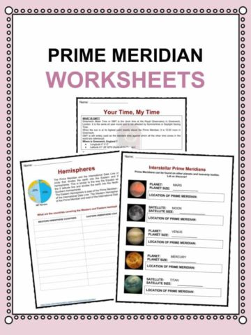 PRIME MERIDIAN Worksheets