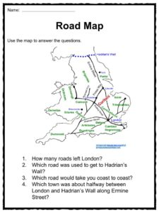 graphic relating to Romans Road Printable identified as Roman Streets Information, Worksheets Historical past For Young children