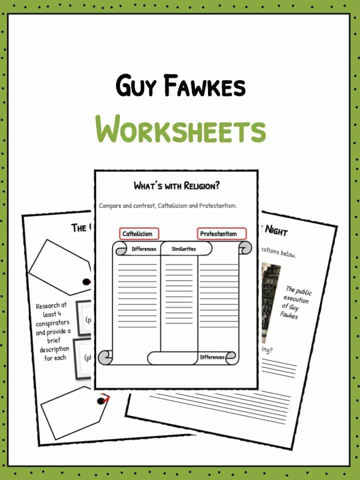 guy fawkes homework ks1