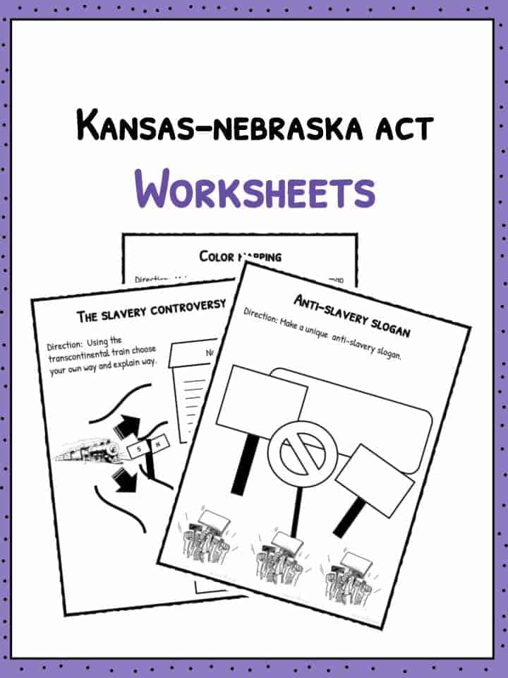 Kansas-Nebraska Act Worksheets