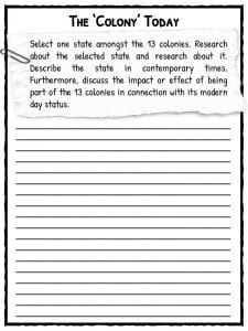 Worksheets 13 Colonies Worksheets 13 thirteen original colonies facts information worksheets the colony today