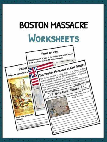 Boston Massacre Worksheets