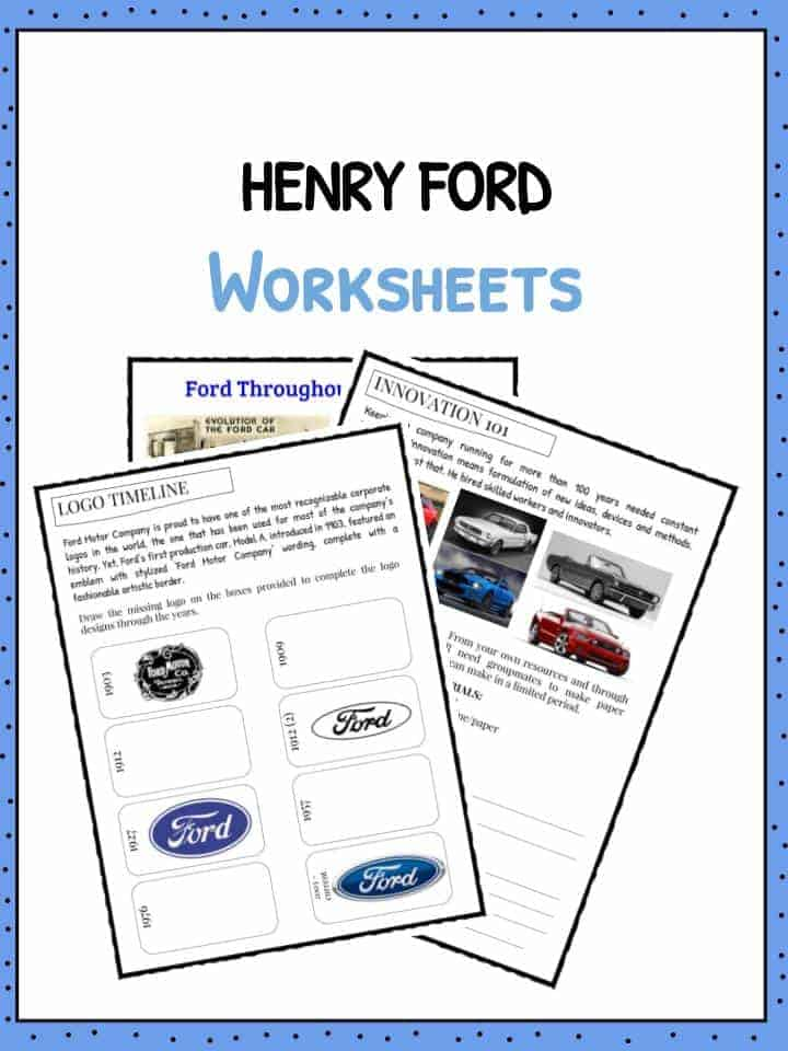 HENRY FORD Worksheet