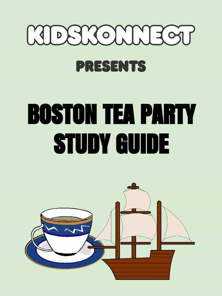 Boston Tea Party Study Guide Printable PDF Worksheet – Boston Tea Party Worksheets