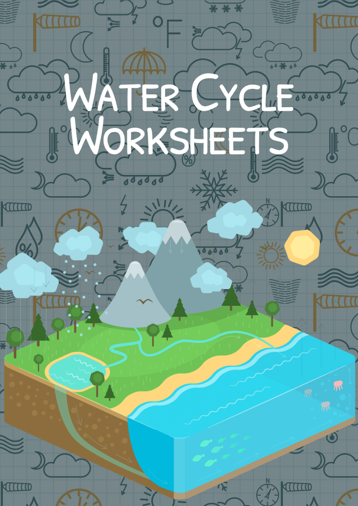 The Water Cycle Worksheet For Kids