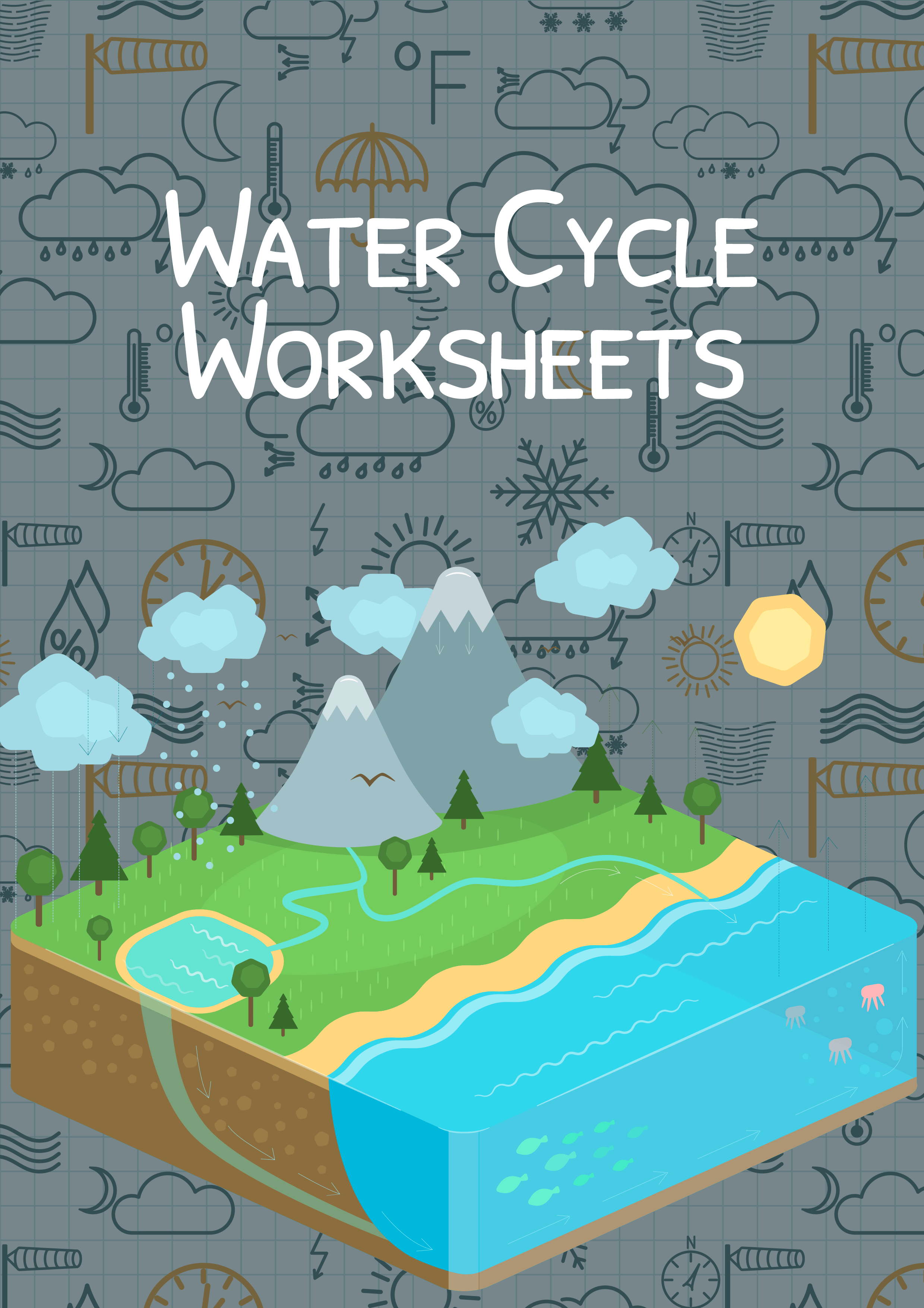 The Water Cycle Worksheet For Kids Water Cycle Summary