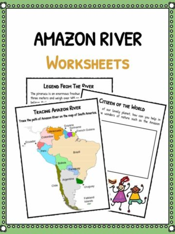 Amazon River Worksheets