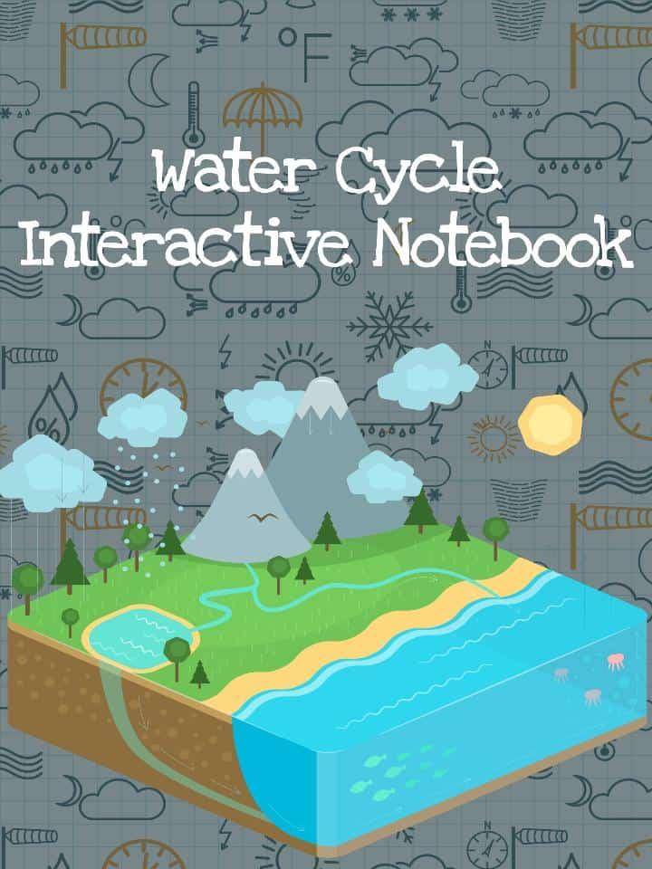 Water Cycle Interactive Notebook PDF Worksheet – Water Cycle Worksheet Pdf