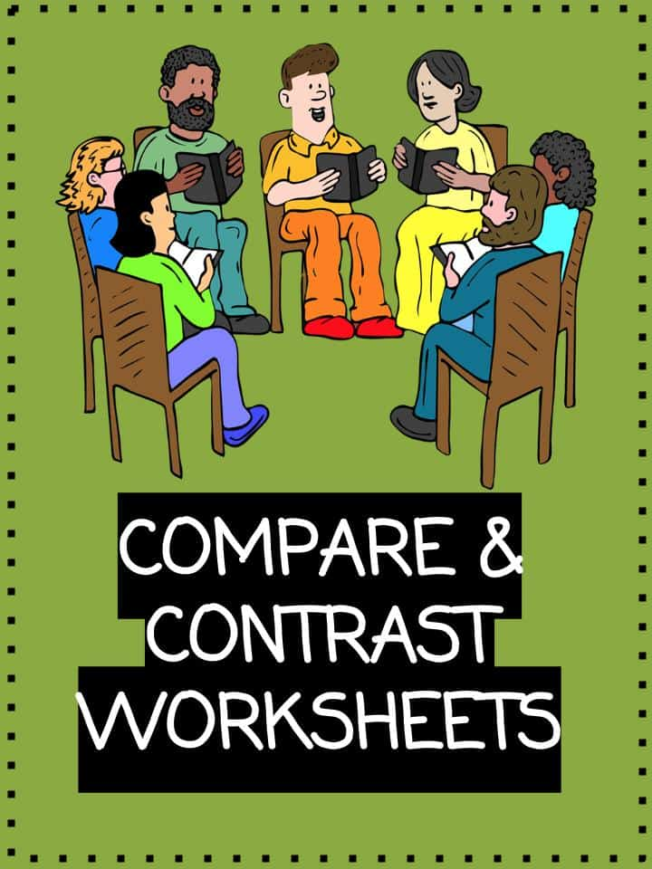 Compare and Contrast Worksheets Lesson Plan PDFs – Comparing and Contrasting Worksheets