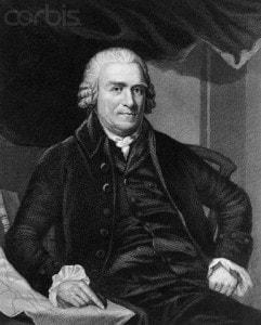 Portrait of Governor Samuel Adams (1722-1803).