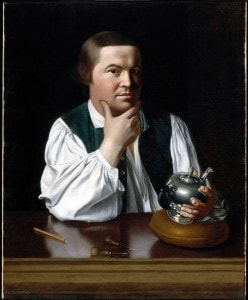 A portrait of Paul Revere (click to view full-size)