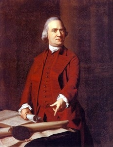 A portrait of Samuel Adams (click to view full-size)