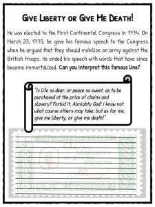 Congress Worksheets