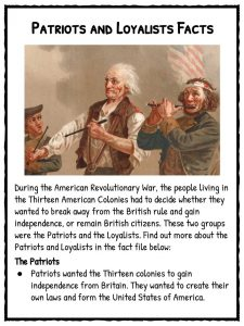 the patriot facts and fiction