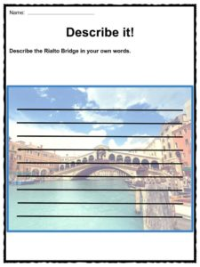 Rialto Bridge Facts Worksheets Amp Historic Information For