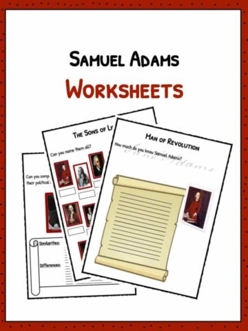 Samuel Adams Worksheets