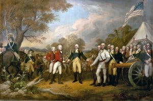 The Surrender of General Burgoyne, October 17, 1777