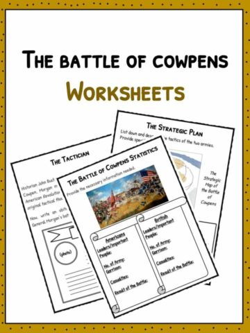 The Battle of Cowpens Worksheets