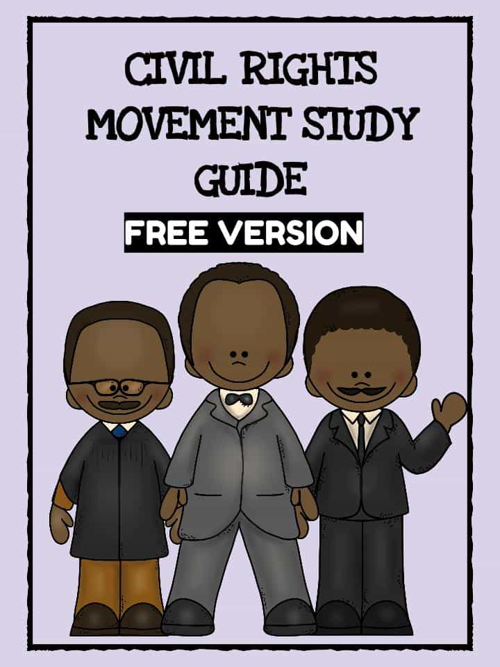 Free Civil Rights Movement Worksheet PDF Download – Civil Rights Movement Worksheets