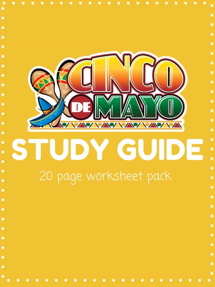 Cinco de Mayo Worksheet