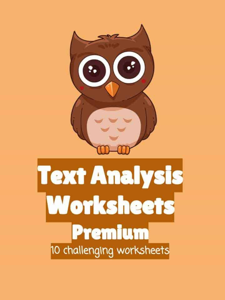 Text Analysis Worksheets