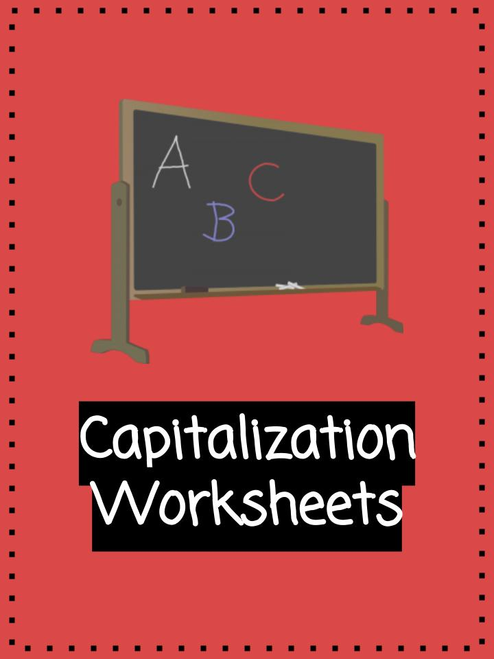 Capitalization Worksheets PDF Printable Study Unit – Capitalization Worksheets Pdf