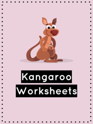 Kangaroo Worksheets