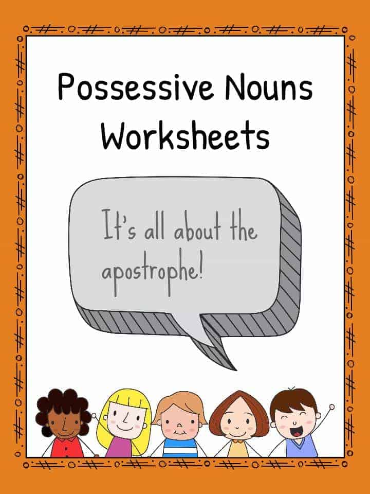 Possessive Nouns Worksheets and Teaching Resources – Singular Possessive Nouns Worksheets