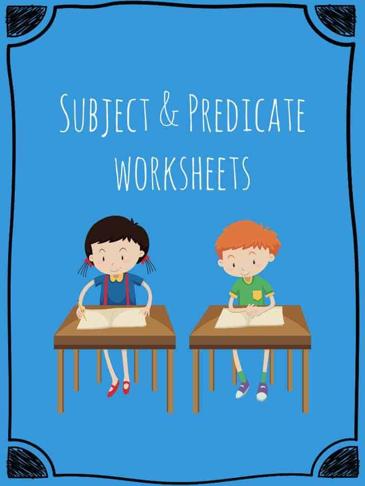 Subject and Predicate Worksheets Teaching Resources – Subject and Predicate Worksheets