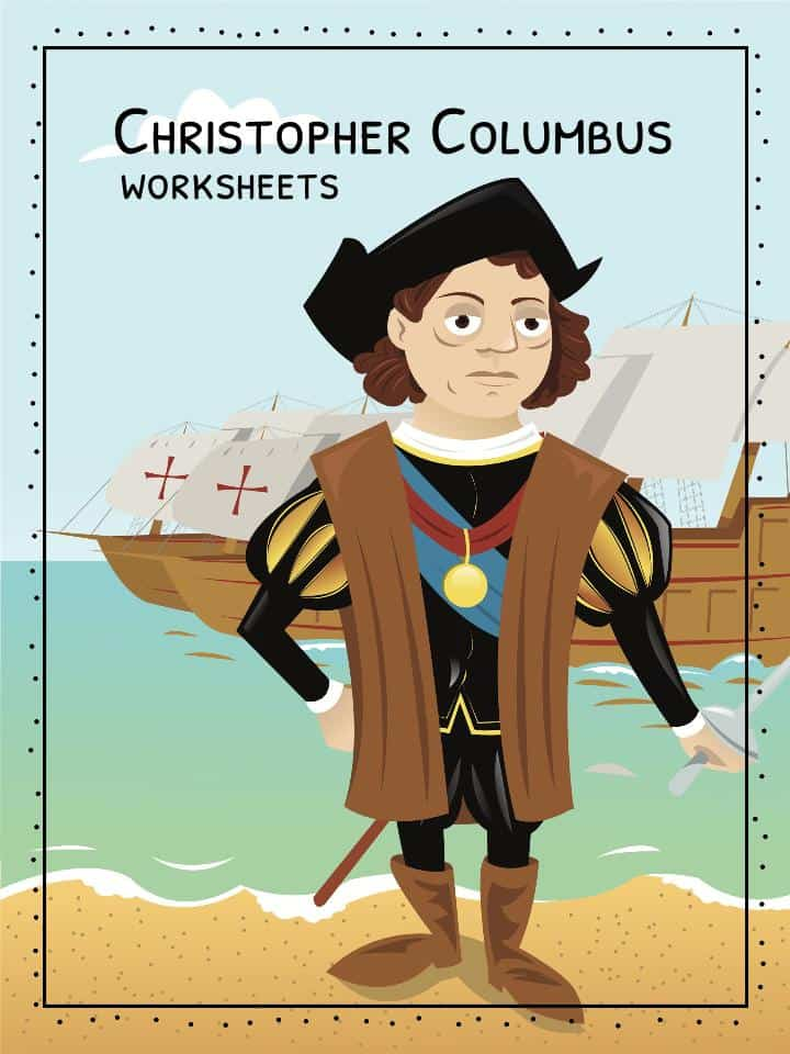 Christopher Columbus Worksheets Facts Information For Kids – Christopher Columbus Worksheets