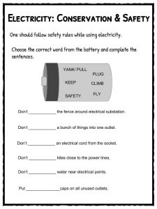 Free Electricity: Free Electricity Worksheets
