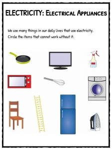 PrimaryLeap.co.uk - Electrical symbols 1 Worksheet