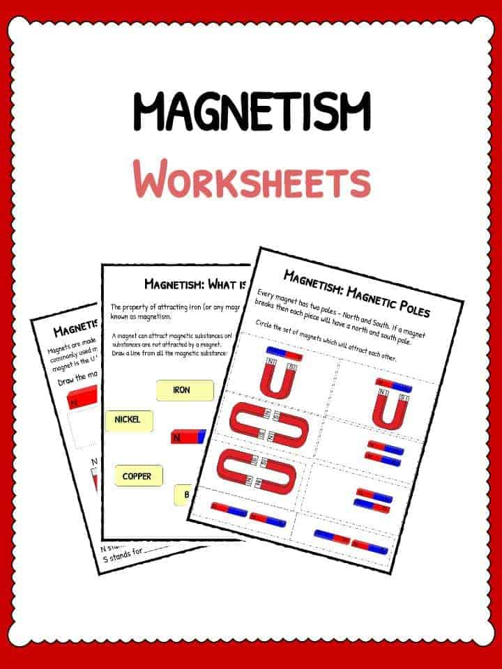 Electricity magnetism worksheets high school