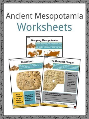 Ancient Mesopotamia Worksheets