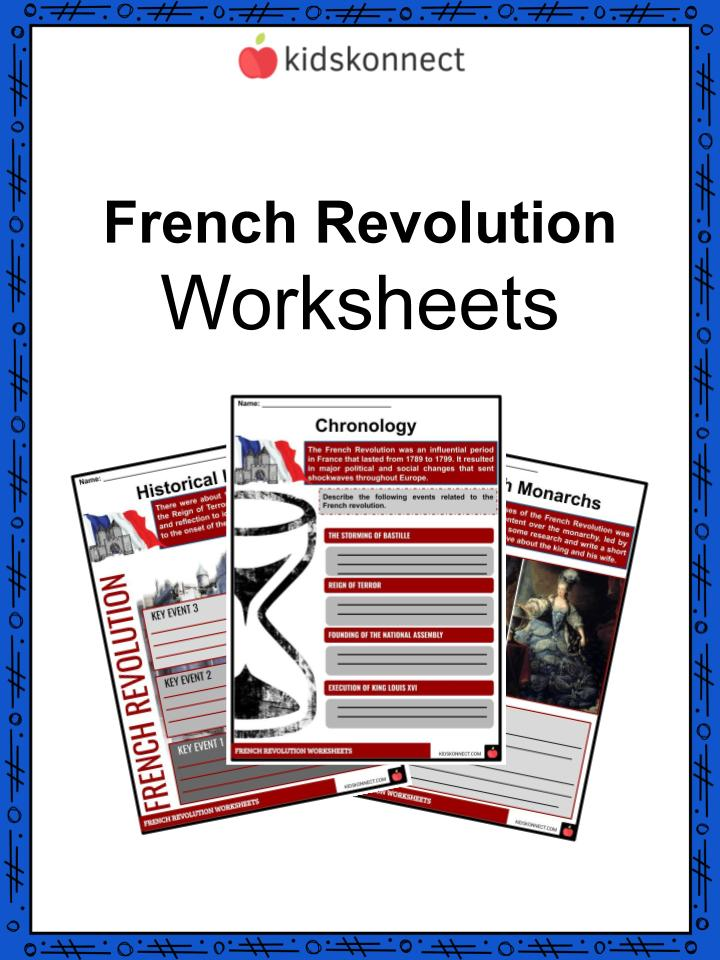 French Revolution Facts Information Worksheets Lesson Plans