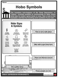 The Great Depression Facts, Information & Worksheets For Kids