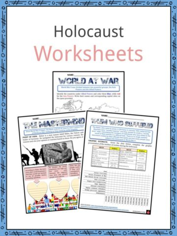 Holocaust Worksheets