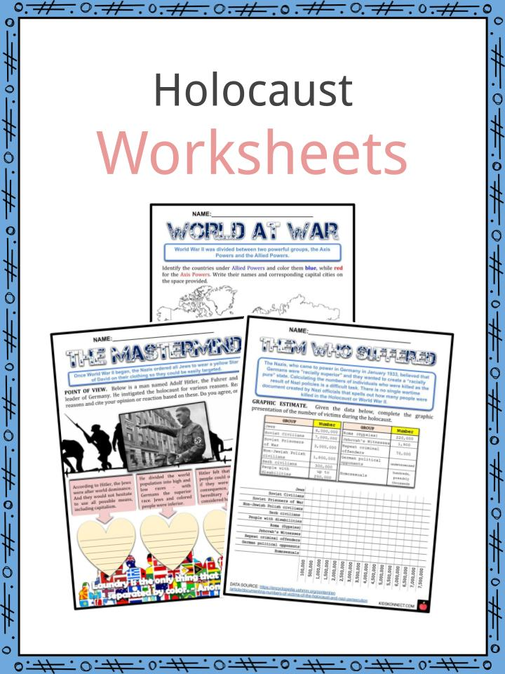 Holocaust Worksheets