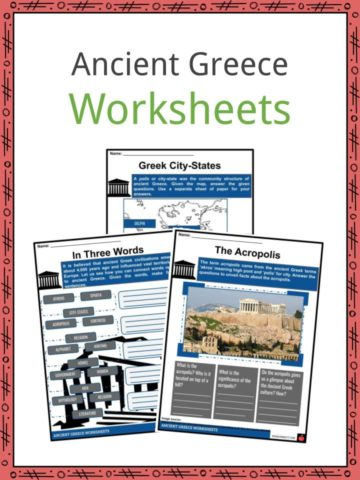 Ancient Greece Worksheets