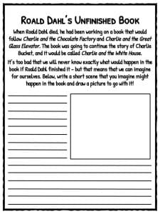 Identifying Types Of Reactions Worksheet Pdf Roald Dahl Facts Information And Worksheets  Teaching Resources Short Vowel Sounds Worksheet with Metric To Metric Conversion Worksheet Excel Unfinished Book 1st Grade Reading Worksheets