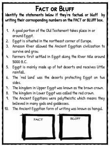 Ancient Egypt Facts Amp Worksheets For Kids Teaching Resources