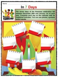 Kwanzaa Facts Worksheets Information Amp History Of
