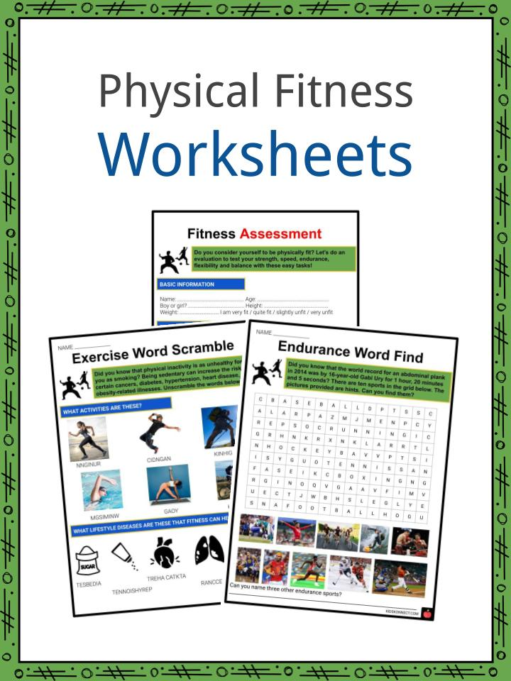 PHYSICAL FITNESS Worksheets