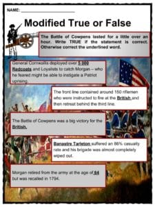 what happened at the battle of cowpens