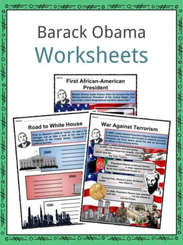 Barack Obama Worksheets