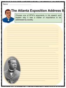 booker t washington 8 pages works cited The book i read was on booker t washington and his life  as time passed he  worked at a salt furnace, coal mine and as a servant for the.