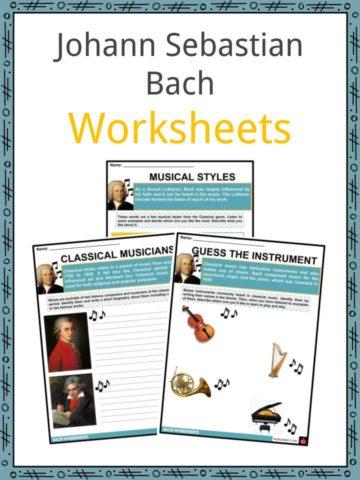 Johann Sebastian Bach Worksheets