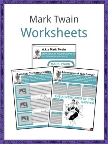 Mark Twain Worksheets