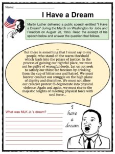 Martin luther king jr facts worksheets for kids study material worksheet pack 1 this download includes the following worksheets martin luther king jr ibookread PDF
