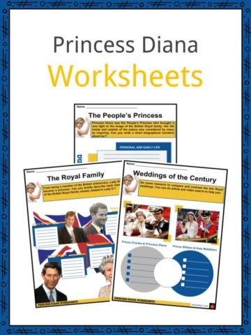Princess Diana Worksheets